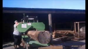 harbor freight sawmill. hines farm harbor freight sawmill - beginning setup, modifications, \u0026 milling t