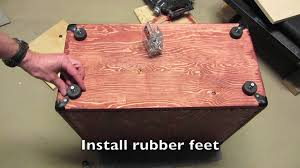 Best Guitar Amp Cabinets Guitar Tone Build A Speaker Cabinet In 10 Easy Steps Youtube