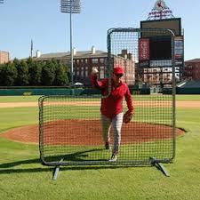 Baseball Pitcher L-Screen Training Screens \u0026 Nets | AD STARR