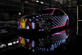 exterior led lighting car. lexus stuck 42,000 led lights on a car to create this dazzling light show exterior led lighting