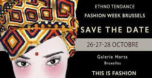 Ethno Tendance Fashion Week Brussels 2018 Ou La Mode Glam