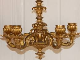 bronze wall sconces for candles