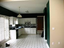 white kitchen dark tile floors. Kitchen : Amazing Black And White Tile Floor Designs Ideas With L Shape Wooden Cabinet Countertop Plus Chess Pattern Dark Floors T