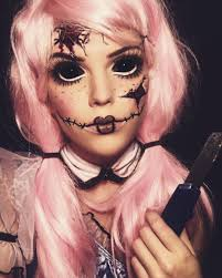 source insram you can give the perfect broken doll costume and makeup