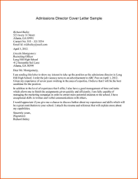 Unsolicited Cover Letter Stands Out Materials Capture Admissions