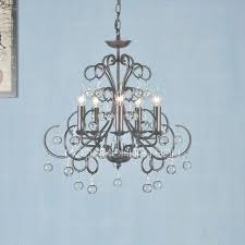 wrought iron and crystal chandeliers rustic 6 light antique within antique wrought iron and crystal