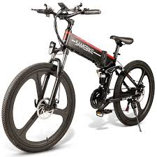 <b>Samebike LO26</b> Ebike <b>26 Inch</b> Folding Electric Bike Power Assist ...
