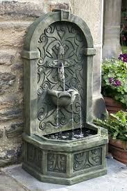 outdoor wall fountains decorating ideas outdoor wall fountains clearance