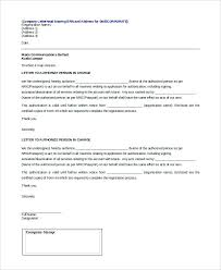 Medical Permission Letter Written Authorization Means – Template ...