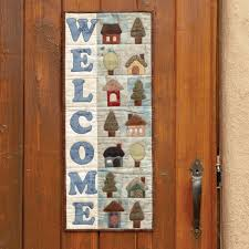 GO! Welcome Home Wall Hanging Pattern |AccuQuilt| & Welcome Home Wall Hanging Pattern (PQ10262) ... Adamdwight.com