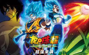 Wallpaper Dragon Ball Super: Broly ...