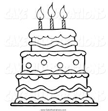 birthday cake clip art black and white. Plain White Birthday Cake Black And White Clipart  Kid Png Royalty Free Library In Clip Art I