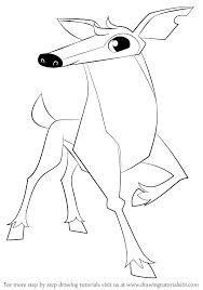learn how to draw deer from jam jam step by step drawing tutorials