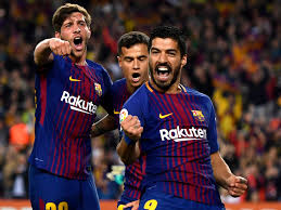 barcelona celebrates