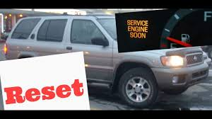 How to reset Service Engine soon Light on a 2004 Nissan Pathfinder ...