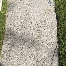 remove black spot from my patio