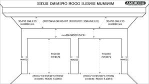 standard garage door common garage door sizes