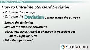 Measures of Variability: Range, Variance & Standard Deviation ...