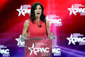 Kristi Noem ridiculed after using an ...