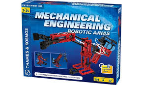 Mechanical Engineering Robots Mechanical Engineering Robotic Arms Experiment Kit Thames Kosmos