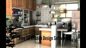 Kitchen Modeling Free 3d Kitchen Design Software Youtube