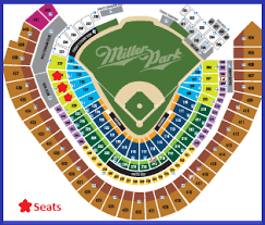Miller Park Seating Chart Brewers Tailgate Fundraiser Wisconsin Motor Carriers