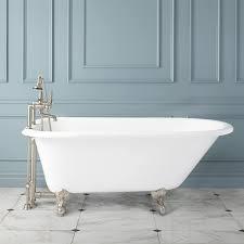 Celine Cast Iron Clawfoot Tub Bathroom - Clawfoot tub bathroom