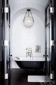 Black And White Shower Tile Designs 35 Black White Bathroom Design And Tile Ideas