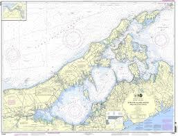 Noaa Chart 12358 New York Long Island Shelter Island Sound And Peconic Bays Mattituck Inlet