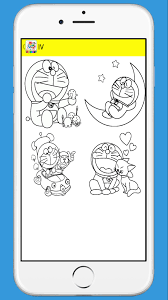 Doraemon is a manga created by fujiko f. Doraemon Coloring Page For Kids For Android Apk Download