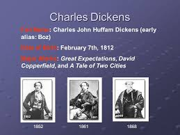 outline biographical sketch of charles dickens summary of a  3 charles dickens 185218611868 full charles john huffam dickens early alias boz date of birth 7th 1812 major works great expectations