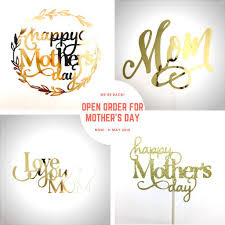 Mothers Day Cake Topper Design Craft Others On Carousell