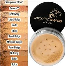 Avon Smooth Minerals Powder Foundation Light Beige Buy Avon Smooth Minerals Powder Foundation In Ivory In Cheap