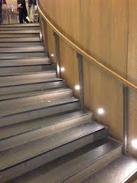Stair led lights Recessed Port Led Round Wallfloor Recessed Light By Pureedge Lighting Ainkacomco Installation Gallery Stairway Lighting