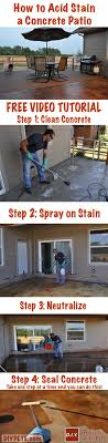 how to acid stain concrete patios average cost of stained floors bd9b73705ef5b99a544b942cfc7839