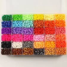 online get cheap fuse box gifts aliexpress com alibaba group 36 color 5mm hama beads perler beads box set eva fuse beads for children diy educational