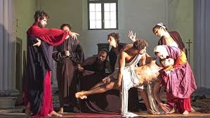 Αποτέλεσμα εικόνας για Caravaggio con la música del requiem de Mozart.