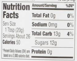 smucker s strawberry preserves nutrition facts