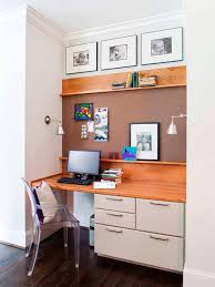 Built In Desk Designs How To Create A Stylish And Organized Desk Space Hgtvs