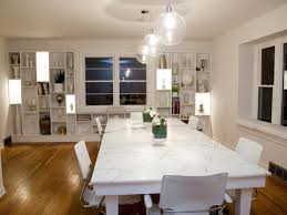 arrange dining room lighting luxury