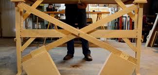 scott rumschlag s diy motor free height adjustable standing desk core77