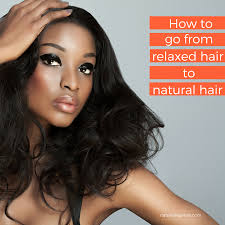 Transition Hair Style how to go from relaxed hair to natural hair natural 5287 by stevesalt.us
