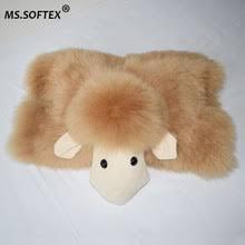 Подушка из овчины, подушка из <b>натурального меха</b>, милая ...