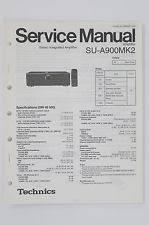 technics su in manuals resources technics su a900 mk2 stereo amplifier original service manual wiring diagram 74
