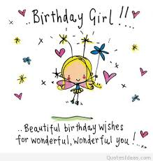 Birthday Girl Quotes Enchanting Funny Happy Birthday Girl Quote On We Heart It