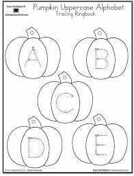 abc tracing sheet pumpkin lowercase and uppercase tracing alphabet a to z teacher