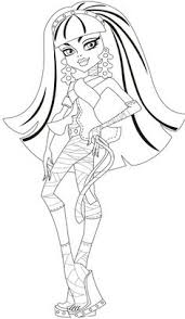 Small Picture printable monster high coloring pages coloring pages Pinterest
