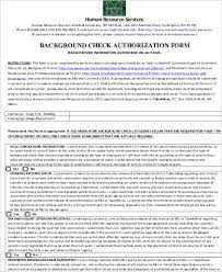 Background Check Authorization Form Adorable 44 Background Check Consent Form Samples Sample Templates