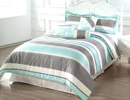 blue striped comforter mini stripe sham red and sets queen