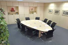 boardroom tables pear shaped